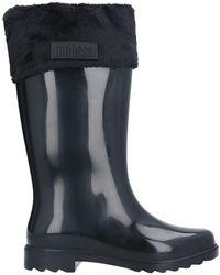 Melissa Knee Boots - Black