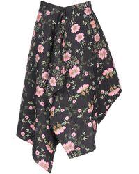 Preen By Thornton Bregazzi Knee Length Skirt - Black