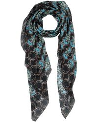 Manila Grace Square Scarf - Black