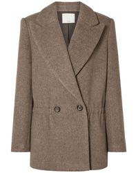 Tibi Coat - Multicolour