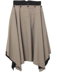 Hyke 3/4 Length Skirt - Multicolour