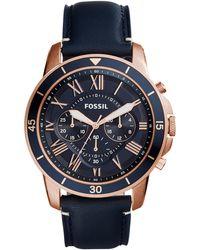 Fossil Reloj de pulsera - Azul