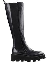 Roberto Festa Knee Boots - Black