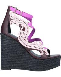 Versace Sandale - Lila