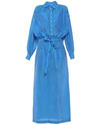 The Attico Vestido largo - Azul