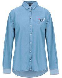 Chinti & Parker Denim Shirt - Blue