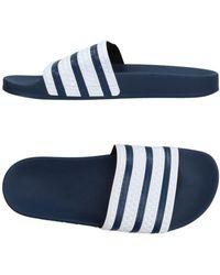 adidas Originals Sandale - Blau