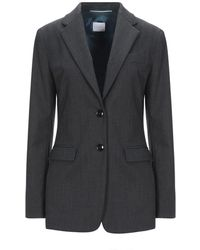 ..,merci Suit Jacket - Gray