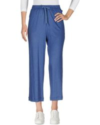 TROUSERS - 3/4-length trousers Majestic Filatures RQ7tDwgsVd