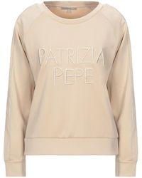 Patrizia Pepe Sweatshirt - Natural