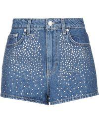 Chiara Ferragni Denim Shorts - Blue