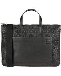 Loewe Work Bags - Black