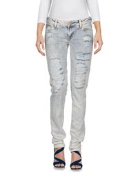 Guess - Pantalon en jean - Lyst