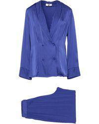 TWINSET UNDERWEAR Sleepwear - Blue