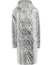 MM6 by Maison Martin Margiela Coat - Metallic