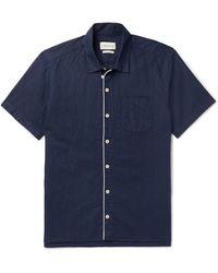 Oliver Spencer Shirt - Blue