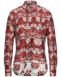 Tintoria Mattei 954 Shirt - Red
