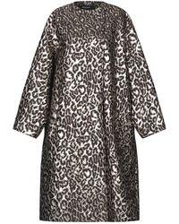 Rochas Overcoat - Black