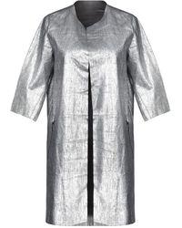 Vintage De Luxe Overcoat - Metallic