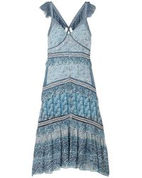 Sea Long Dress - Blue