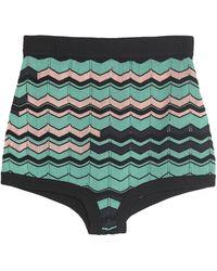 M Missoni Shorts et bermudas - Vert