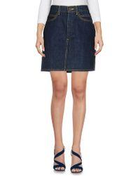 Calvin Klein Jeans - Denim Skirts - Lyst