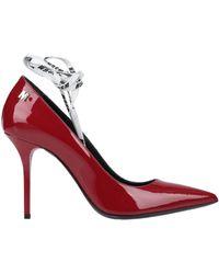 MSGM Zapatos de salón - Rojo