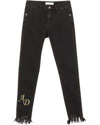 Alessandro Dell'acqua Pantaloni jeans - Nero