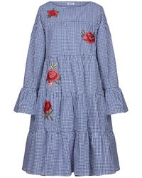 Brigitte Bardot Knee-length Dress - Blue