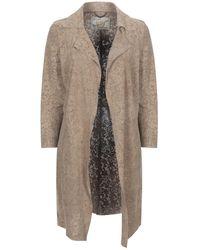 Vintage De Luxe Overcoat - Natural