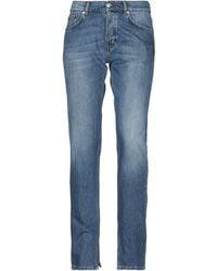 Ganni Denim Trousers - Blue