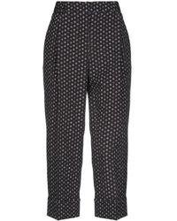 Carla Montanarini 3/4-length Trousers - Black