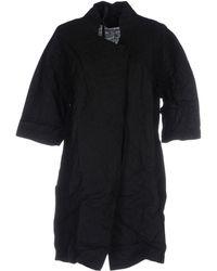 Barbara I Gongini Overcoat - Black