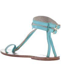Mes Demoiselles Sandals - Blue