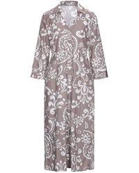 Camicettasnob 3/4 Length Dress - Grey