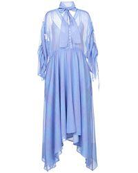 MYKKE HOFMANN Midi Dress - Blue