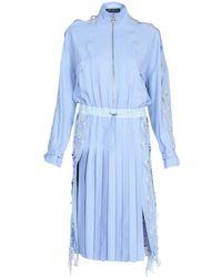 Versace Knee-length Dress - Blue
