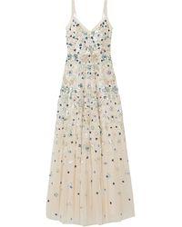Needle & Thread Long Dress - White