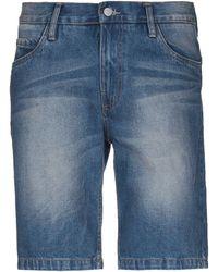 Anerkjendt Denim Shorts - Blue