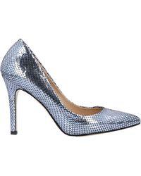 Lea-Gu Court Shoes - Blue