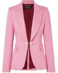 Adam Lippes Suit Jacket - Pink