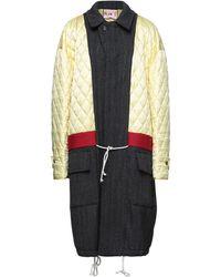 Plan C Overcoat - Multicolour