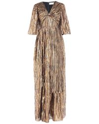 Peter Pilotto Striped Metallic Gown