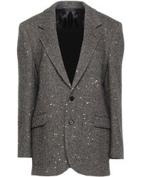 Celine Suit Jacket - Gray