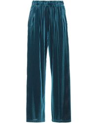 WEILI ZHENG Trousers - Blue