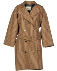 Mulberry Coat - Brown