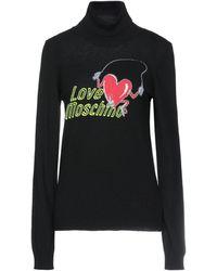 Love Moschino Turtleneck - Black