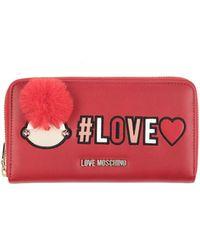 Love Moschino Portafogli - Rosso