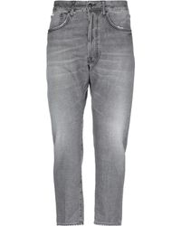 People Denim Trousers - Grey