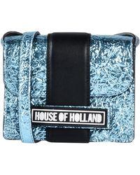 House of Holland - Bolso con bandolera - Lyst